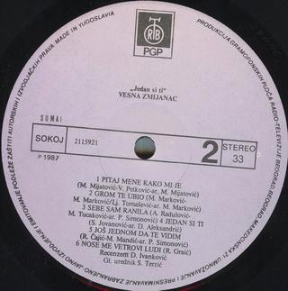 Vesna Zmijanac - Diskografija R-202911