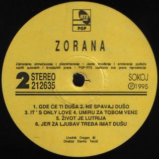Zorana Pavic - Diskografija  R-202919