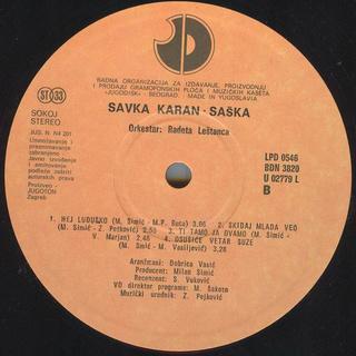 Saska Karan - Diskografija  R-204512