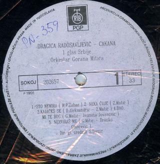 Cakana - Dragica Radosavljevic - Diskografija  R-204516