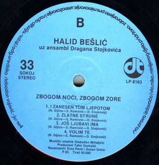 Halid Beslic - Diskografija R-205021
