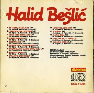 Halid Beslic - Diskografija R-205511