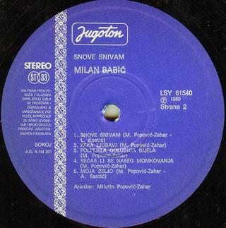 Milan Babic - Diskografija 2 R-207620