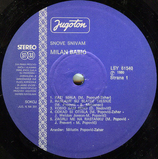 Milan Babic - Diskografija 2 R-207621