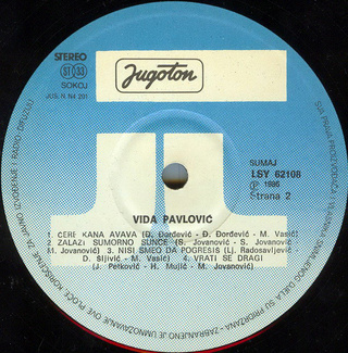 Vida Pavlovic - Diskografija 2 R-208114