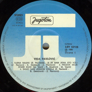 Vida Pavlovic - Diskografija 2 R-208115