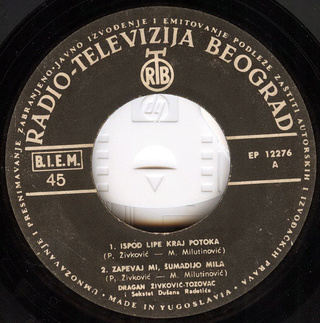 Predrag Zivkovic Tozovac - Diskografija R-208431