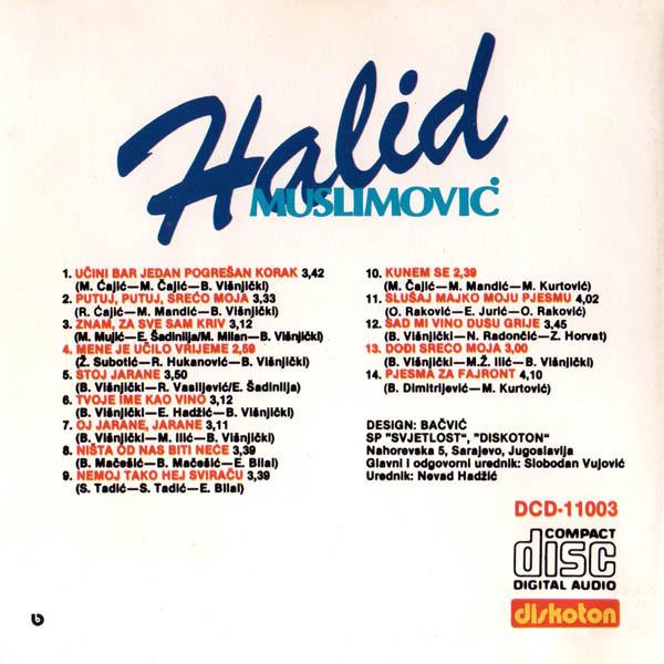 Halid Muslimovic - Diskografija R-208612