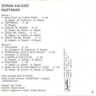 Zoran Kalezic - Diskografija R-208717
