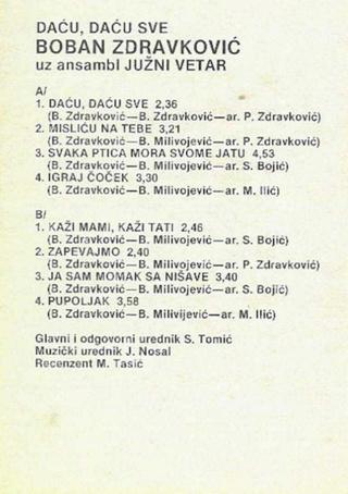 Boban Zdravkovic - Diskografija R-208724