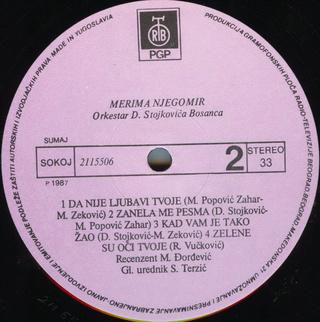 Merima Kurtis Njegomir - Diskografija  R-209021