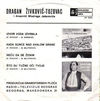 Predrag Zivkovic Tozovac - Diskografija R-210011