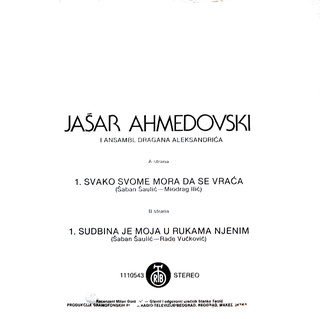 Jasar Ahmedovski - Diskografija R-211810