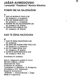 Jasar Ahmedovski - Diskografija R-211824