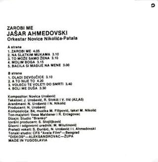 Jasar Ahmedovski - Diskografija R-211836