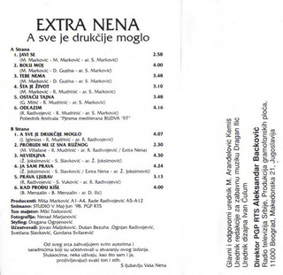 Extra Nena ( Snezana Beric ) - Diskografija  R-211864