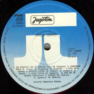 Nada Obric - Diskografija  R-212014