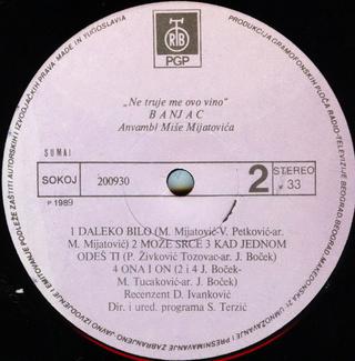 Slavko Banjac - Diskografija  R-212813