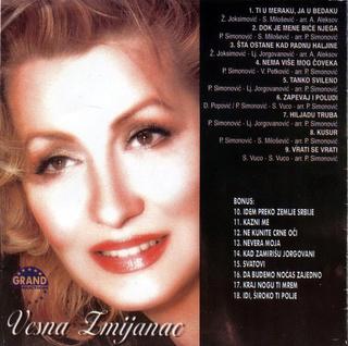 Vesna Zmijanac - Diskografija R-215011