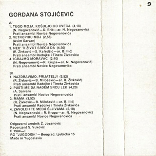Gordana Stojicevic - Diskografija  - Page 2 R-220575