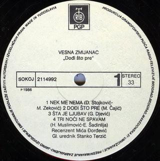 Vesna Zmijanac - Diskografija R-220714