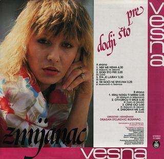 Vesna Zmijanac - Diskografija R-220717