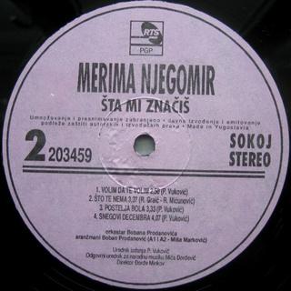 Merima Kurtis Njegomir - Diskografija  R-220734