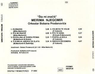 Merima Kurtis Njegomir - Diskografija  R-220737