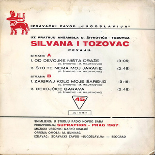 Predrag Zivkovic Tozovac - Diskografija R-223311