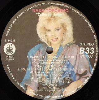 Nada Topcagic - Diskografija R-225611