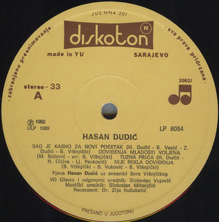 Hasan Dudic - Diskografija R-228114