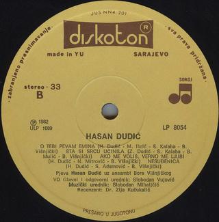 Hasan Dudic - Diskografija R-228115