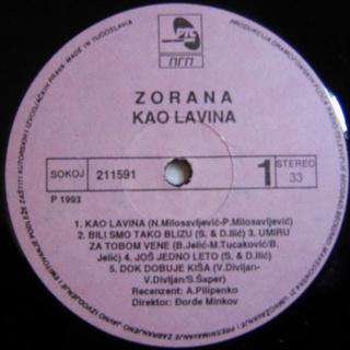 Zorana Pavic - Diskografija  R-228417