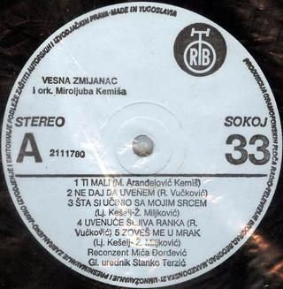 Vesna Zmijanac - Diskografija R-228510
