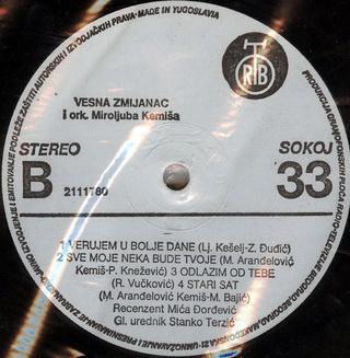 Vesna Zmijanac - Diskografija R-228511