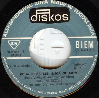 Rade Vuckovic - Diskografija  R-232013