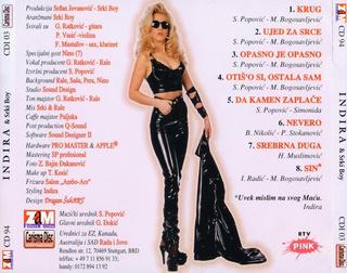 Indira Radic - Diskografija R-232812