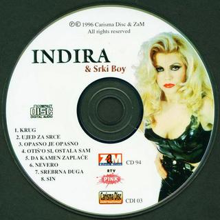 Indira Radic - Diskografija R-232815