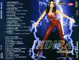 Indira Radic - Diskografija R-233011