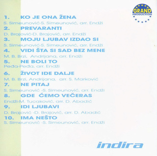 Indira Radic - Diskografija R-233410