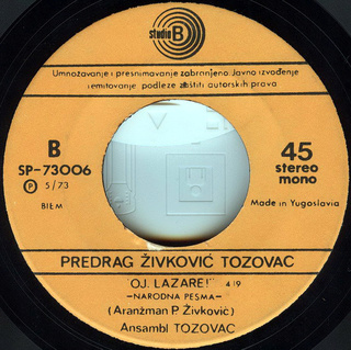 Predrag Zivkovic Tozovac - Diskografija R-236513