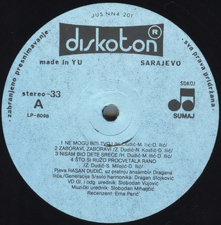 Hasan Dudic - Diskografija R-243012
