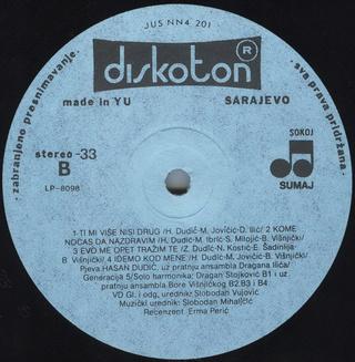 Hasan Dudic - Diskografija R-243013
