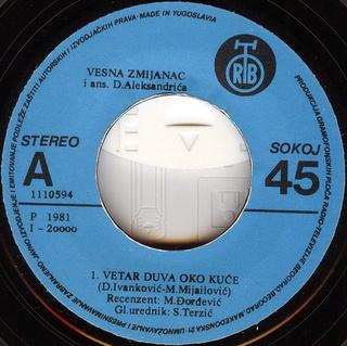 Vesna Zmijanac - Diskografija R-243113