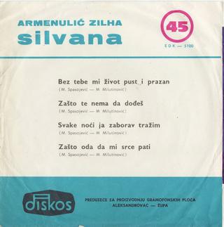 Silvana Armenulic - Diskografija  R-245614