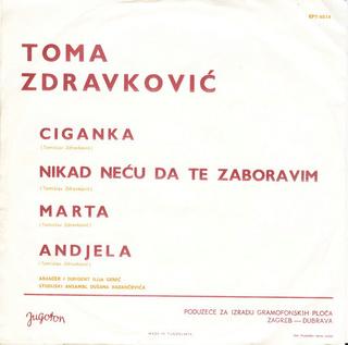 Toma Zdravkovic - Diskografija R-246111