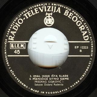 Predrag Gojkovic Cune - Diskografija  R-246221