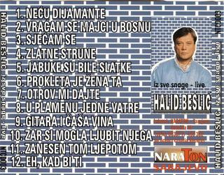 Halid Beslic - Diskografija R-249812