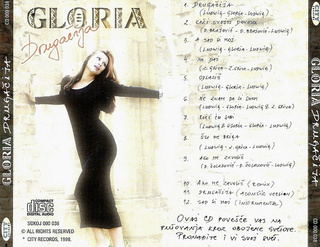 Gloria (Vesna Blagojevic) - Diskografija  R-250517