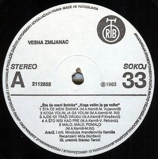 Vesna Zmijanac - Diskografija R-251110